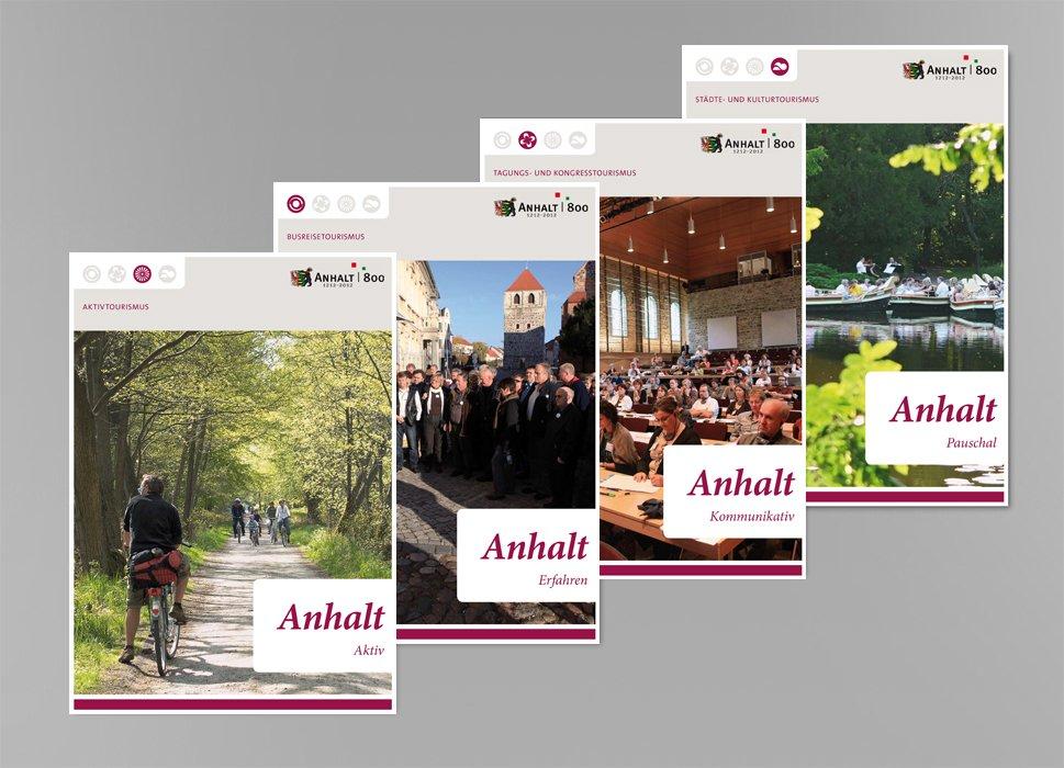 1 TR ADW 800 Jahre Anhalt Broschur Anhalt vier The
