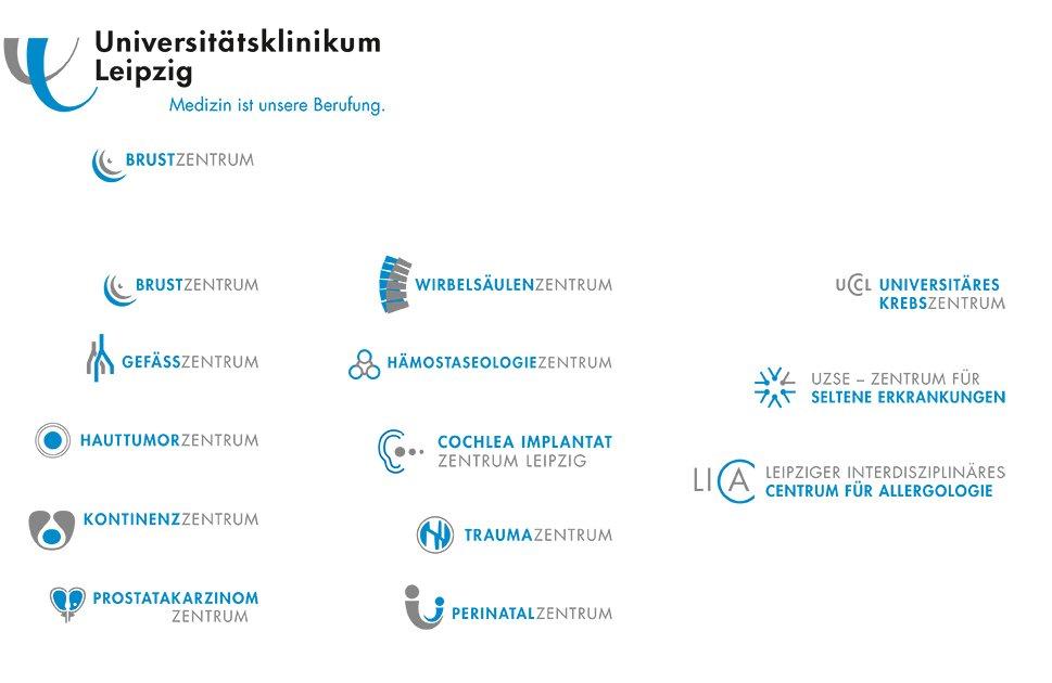 7 UKL Logofamilie Zusatzmarken Zentren 1