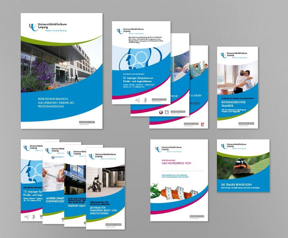 8 UKL Printmaterialien Auswahl unterschdl Formate 1