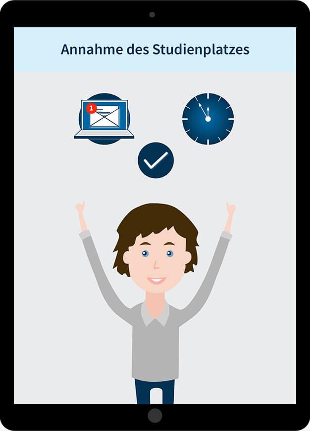 HTWK Auswahlverfahren Bild4 ipad